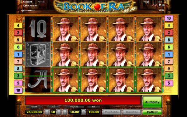 Игровой автомат book of ra hd