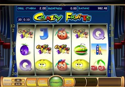 Crazy fruit игровые автоматы онлайн флэш игровые азартные игровые автоматы